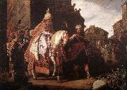 LASTMAN, Pieter Pietersz. The Triumph of Mordecai g oil painting picture wholesale